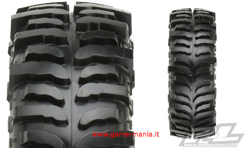 Coppia gomme 1.9 Interco BOGGER 137mm (!) mescola G8 x2 by Pro-Line