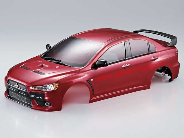 Carrozz. TRASPARENTE Mitsubishi Lancer Evo X 190mm by KB