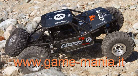 Axial RR-10 SAVVY OFFROAD RTR rock racer scala 1/10 - 2.2""