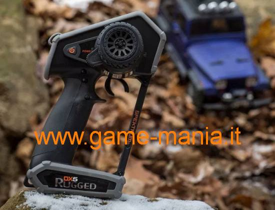 DX-5 RUGGED Tx+Rx WATERPROOF a 5 canali by Spektrum