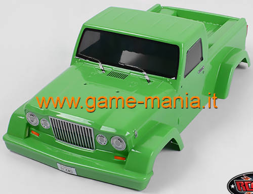 EXPEDITION carrozz. lexan trasparente 313mm CON PARABOLE by RC4WD