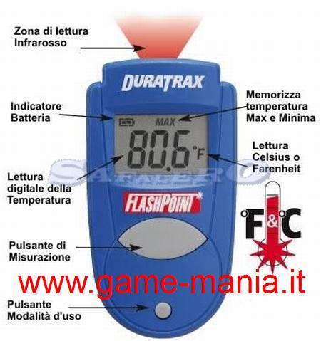 Misuratore di temperatura ad infrarossi