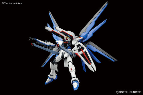 Freedom Gundam in scala 1:144 HG Cosmic Era Revive by Bandai