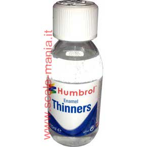 Diluente per vernici Enamel Thinners - boccetta 125ml by Humbrol