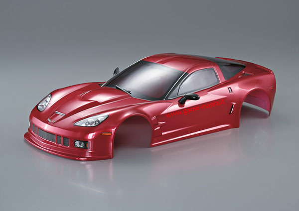 Carrozz. Chevrolet Corvette GT2 VERNICIATA ROSSO METALLIZZATO 190mm by KB