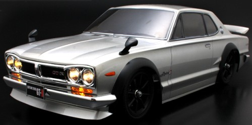 Carrozzeria NISSAN SKYLINE GT-R KPGC10 accessoriata by ABC Hobby