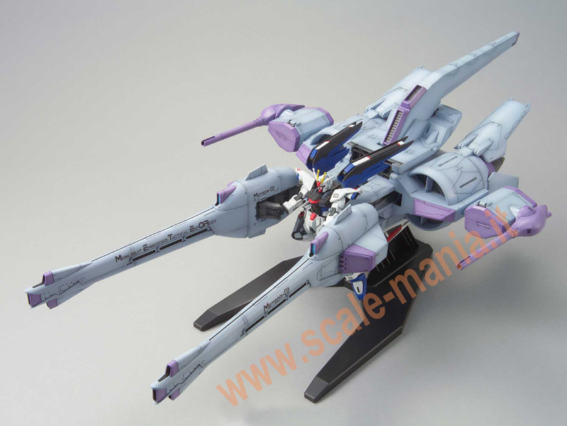 Meteor Unit + Freedom Gundam scala 1:144 HG Seed by Bandai
