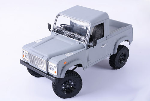 LAND ROVER DEFENDER D90 PICK-UP carrozzeria in ABS x scalers 1:10