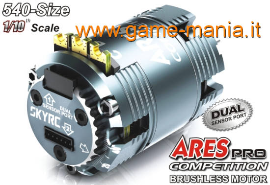 Motore brushless 2 poli SENSORED 21.5T - serie ARES PRO by SkyRC