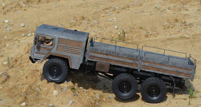 RC4WD BEAST II - KIT 6x6 scala 1:10 metallo e ABS