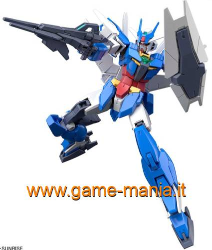 Gundam EARTHREE (Alus MS) HGBD 1/144 kit by Bandai