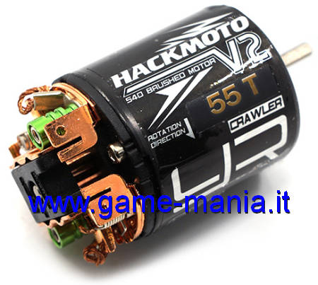 Motore 27 spire cassa apribile Hackmoto by Yeah Racing
