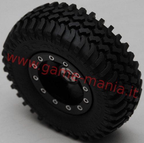 Coppia gomme 1.9 MUD THRASHERS con inserti by RC4WD