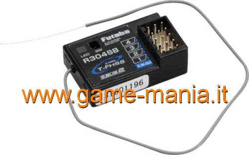 Sanwa RX471 Ricevente 4 Canali FH4//FH3 a 2.4Ghz RX-471-107A41111A