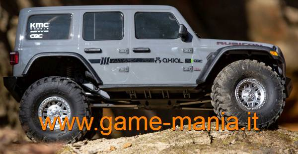 SCX-10 III - RTR Jeep Rubicon GREY body by Axial