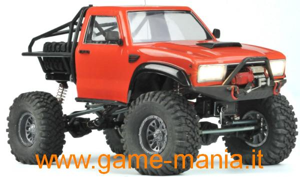 Cross-RC Demon SR4-B scaler 1:10 in kit di montaggio 4x4