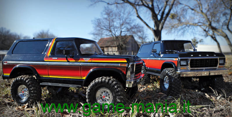 Traxxas TRX-4 FORD BRONCO 1979 SCALER RTR 1:10