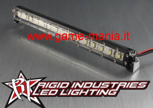 Barra luci tetto 135mm SMD IN LEGA NERA Rigid Ind. by Vanquish Products