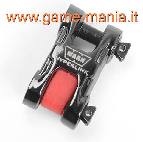 Grillo in lega NERO scala 1:10 WARN EPIC HYPERLINK by RC4WD