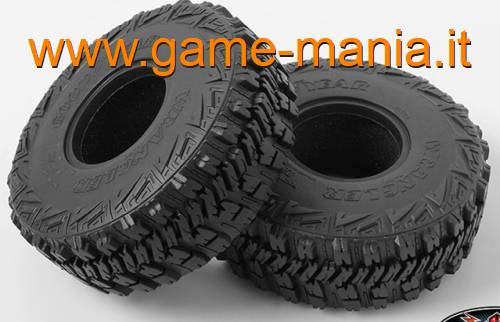 Coppia gomme 2.2 Goodyear WRANGLER MT/R con inserti by RC4WD